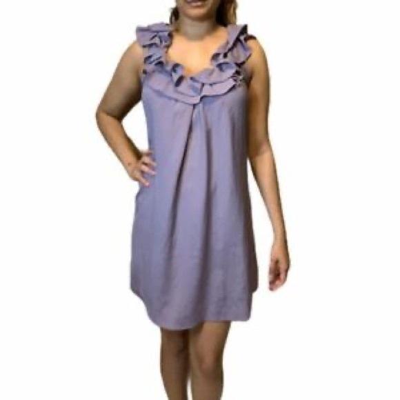 5/$20  ✨ UO • Lilac Pintuck Minidress